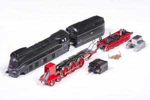 Fleischmann BR01 Stromlinie zerlegt