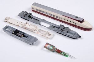Kato BR175 / VT18.16 zerlegt