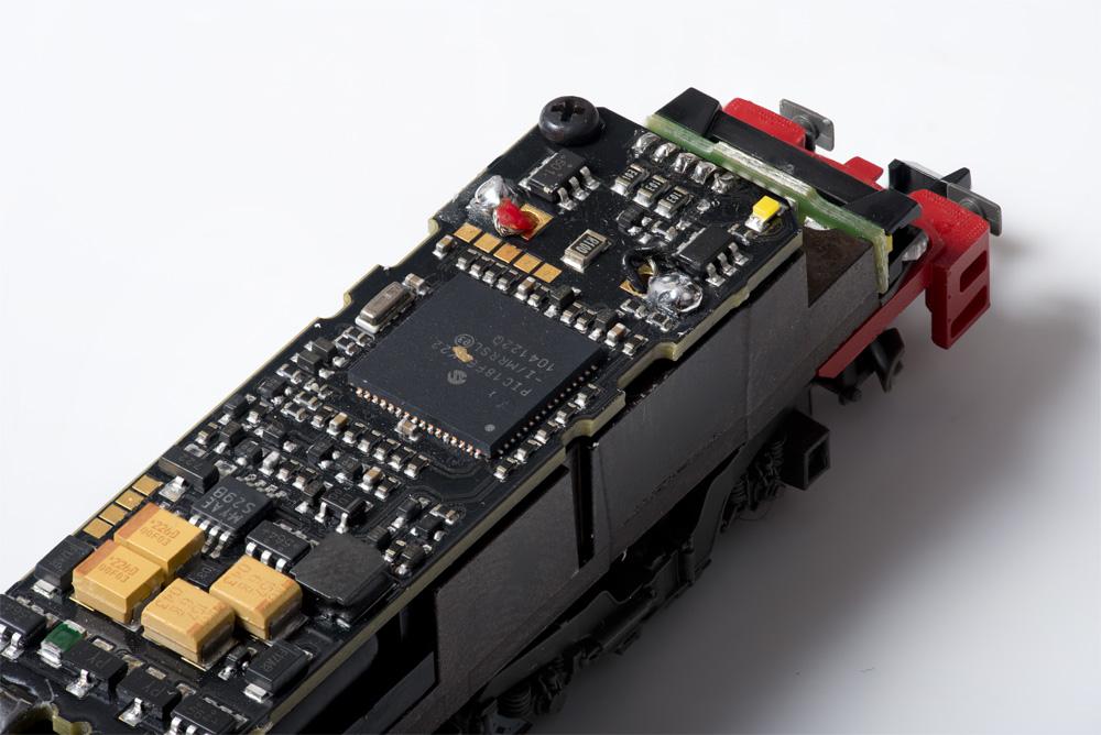 Platine mit Zimo-Sounddecoder