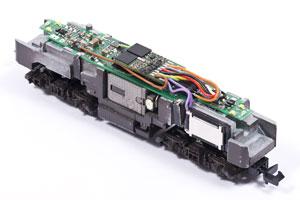 BR218 mit MX648 und Lautsprecher