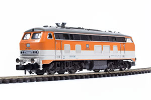 BR218 mit separatem Schlusslicht