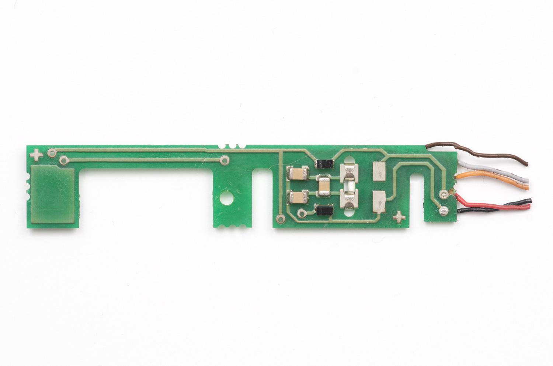BR52 Tenderplatine unbearbeitet