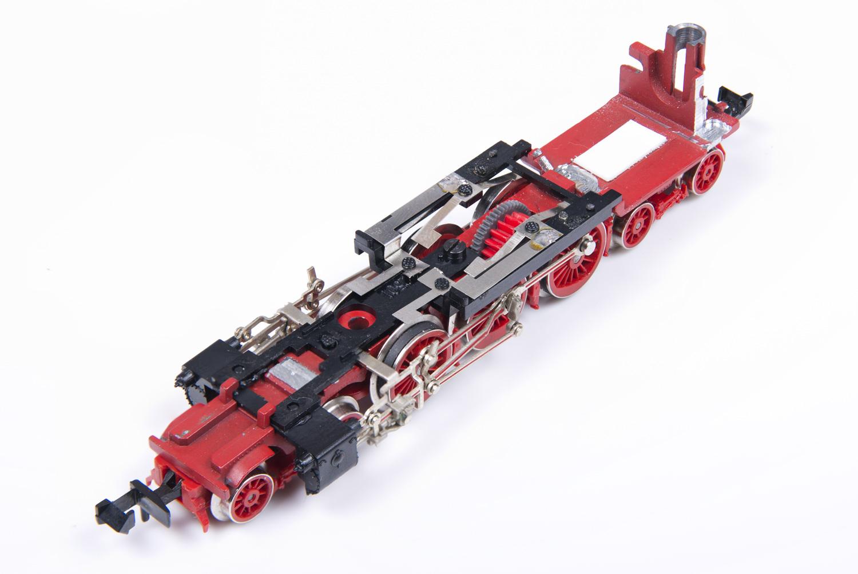 Zusammengebautes Chassis