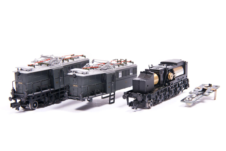 E95 zerlegt