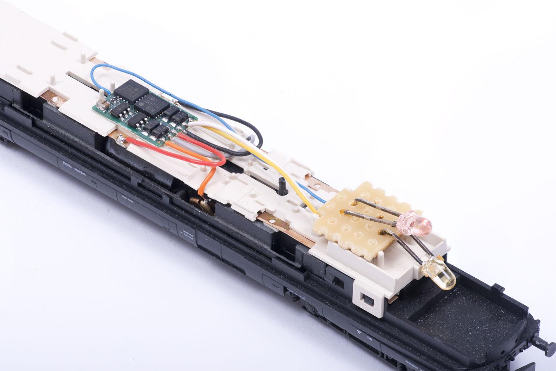 Verkabelung des Lokdecoders