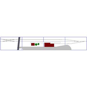 Überarbeiteter Gleisplan des Bahnhofs