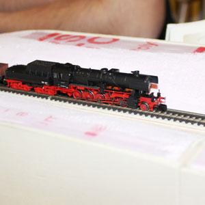 Die BR52 im Einschnitt