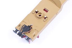 M²-Magnetkupplung eingebaut