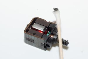 Sauberer Motor